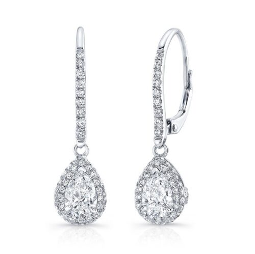 18K WHITE GOLD WHITE DIAMOND PEAR SHAPED DROP EARRINGS FM30908 18W 500x499 - 18K WHITE GOLD WHITE DIAMOND PEAR SHAPED DROP EARRINGS FM30908-18W