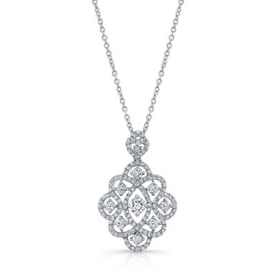 18K WHITE GOLD WHITE DIAMOND PENDANT FM31208 18W 400x400 - 18K WHITE GOLD WHITE DIAMOND PENDANT FM31208-18W