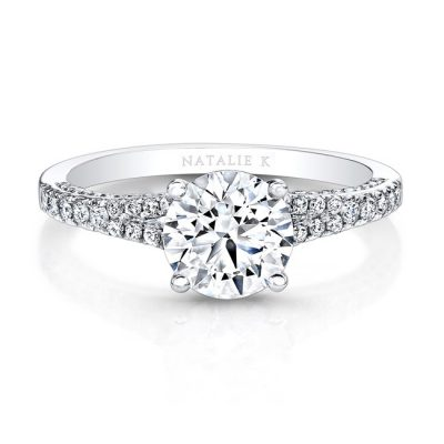 18K WHITE GOLD WHITE DIAMONDS SPLIT SHANK ENGAGEMENT RING FM26940 18W 400x400 - 18K WHITE GOLD WHITE DIAMONDS SPLIT SHANK ENGAGEMENT RING FM26940-18W