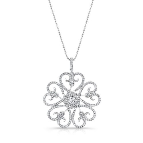 18K WHITE GOLD WHITE SWIRLING HEART DIAMOND PENDANT FM29334 W 500x499 - 18K WHITE GOLD WHITE SWIRLING HEART DIAMOND PENDANT FM29334-W