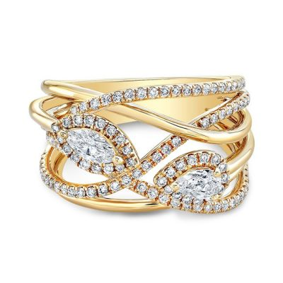 18K YELLOW GOLD FOREVERMARK® DIAMOND BAND FM33047 18Y 400x400 - 18K YELLOW GOLD FOREVERMARK® DIAMOND BAND FM33047-18Y