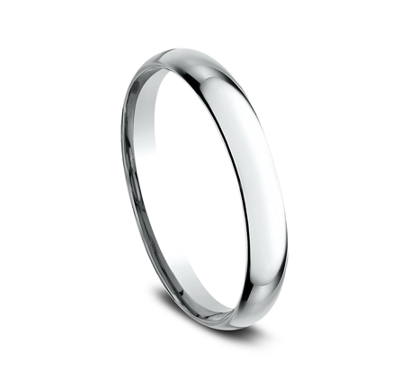 2.5MM BEAUTIFUL WHITE GOLD BAND LCF125W 1 - 2.5MM BEAUTIFUL WHITE GOLD BAND LCF125W