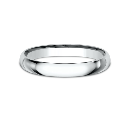 2.5MM BEAUTIFUL WHITE GOLD BAND LCF125W 2 - 2.5MM BEAUTIFUL WHITE GOLD BAND LCF125W