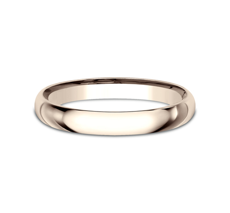 2.5MM ROSE GOLD BAND LCF125R 1 - 2.5MM ROSE GOLD BAND LCF125R