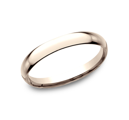 2.5MM ROSE GOLD BAND LCF125R - 2.5MM ROSE GOLD BAND LCF125R