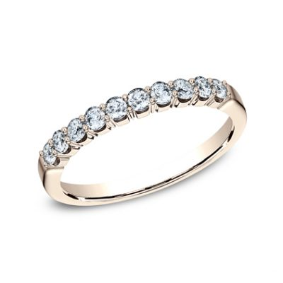 2.5MM ROSE GOLD CRESCENT SHARED PRONG DIAMOND BAND 5925344R 400x400 - 2.5MM ROSE GOLD CRESCENT SHARED PRONG DIAMOND BAND  5925344R