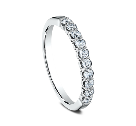 2.5MM WHITE GOLD CRESCENT SHARED PRONG DIAMOND BAND 5925344W 1 - 2.5MM WHITE GOLD CRESCENT SHARED PRONG DIAMOND BAND  5925344W