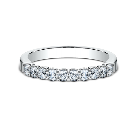 2.5MM WHITE GOLD CRESCENT SHARED PRONG DIAMOND BAND 5925344W 2 - 2.5MM WHITE GOLD CRESCENT SHARED PRONG DIAMOND BAND  5925344W