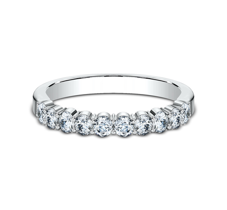 2.5MM WHITE GOLD SHARED PRONG DIAMOND BAND 5538215W 2 - 2.5MM WHITE GOLD SHARED PRONG DIAMOND BAND 5538215W