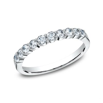 2.5MM WHITE GOLD SHARED PRONG DIAMOND BAND 5538215W 400x400 - 2.5MM WHITE GOLD SHARED PRONG DIAMOND BAND 5538215W
