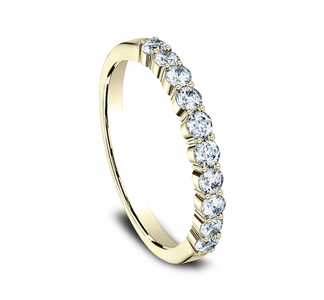 2.5MM YELLOW GOLD SHARED PRONG DIAMOND BAND 5538215Y 1 - 2.5MM YELLOW GOLD SHARED PRONG DIAMOND BAND 5538215Y