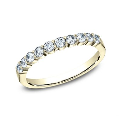 2.5MM YELLOW GOLD SHARED PRONG DIAMOND BAND 5538215Y 400x400 - 2.5MM YELLOW GOLD SHARED PRONG DIAMOND BAND 5538215Y