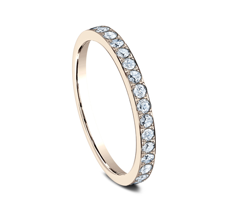 2MM PAVE SET ETERNITY DIAMOND RING 522721R 1 - 2MM PAVE SET ETERNITY DIAMOND RING 522721R