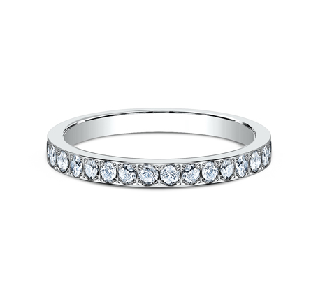 2MM PAVE SET ETERNITY DIAMOND RING 522721W 2 - 2MM PAVE SET ETERNITY DIAMOND RING 522721W