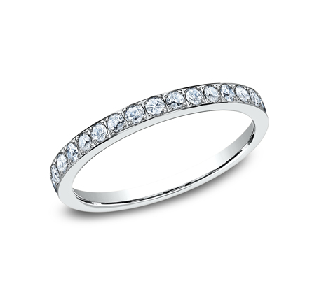 2MM PAVE SET ETERNITY DIAMOND RING 522721W - 2MM PAVE SET ETERNITY DIAMOND RING 522721W
