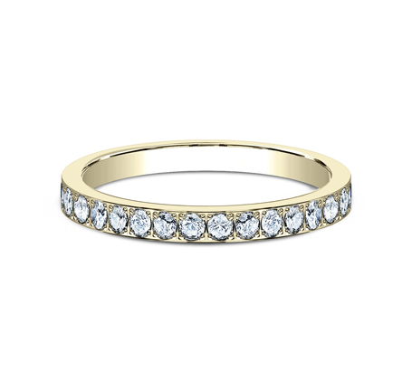 2MM PAVE SET ETERNITY DIAMOND RING 522721Y 2 - 2MM PAVE SET ETERNITY DIAMOND RING 522721Y