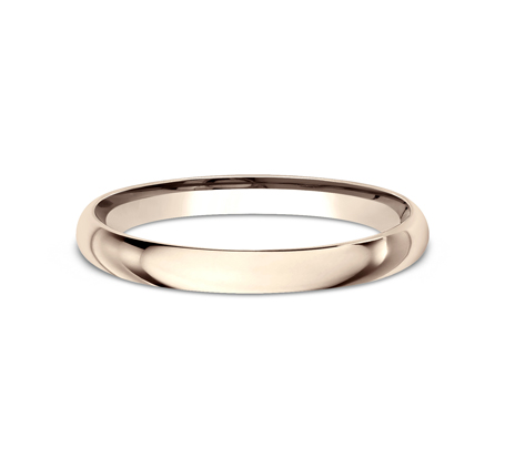 2MM ROSE GOLD BAND LCF120R 2 - 2MM ROSE GOLD BAND LCF120R