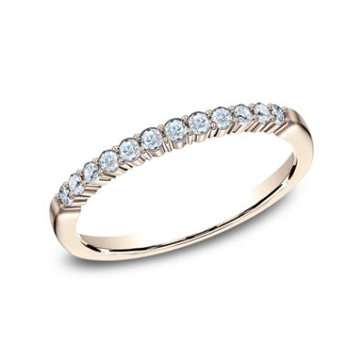 2MM ROSE GOLD SHARED PRONG DIAMOND BAND 552621R 400x400 - 2MM ROSE GOLD SHARED PRONG DIAMOND BAND 552621R