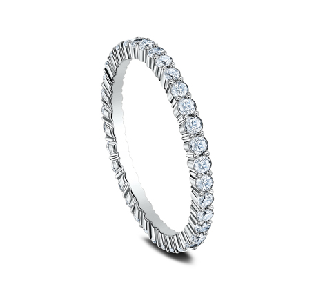 2MM SHARED PRONG ETERNITY DIAMOND BAND 552623W 1 - 2MM SHARED PRONG ETERNITY DIAMOND BAND 552623W