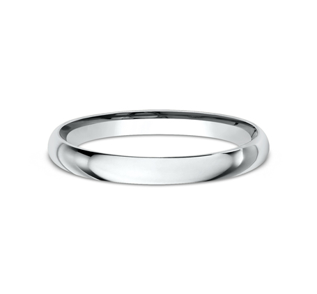 2MM WHITE GOLD BEAUTIFUL BAND LCF120W 2 - 2MM WHITE GOLD BEAUTIFUL BAND LCF120W