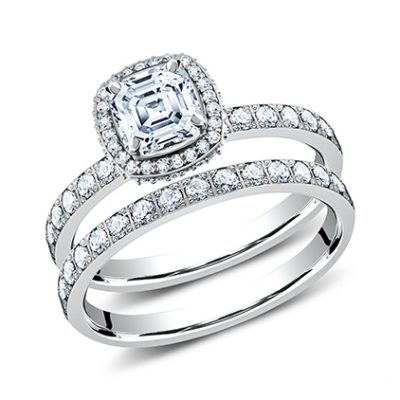 2MM WHITE GOLD PAVE SET ENGAGEMENT SET LCPA2 CSHSET W 400x400 - 3MM WHITE GOLD PAVE SET ENGAGEMENT SET LCPA2-CSHSET-W