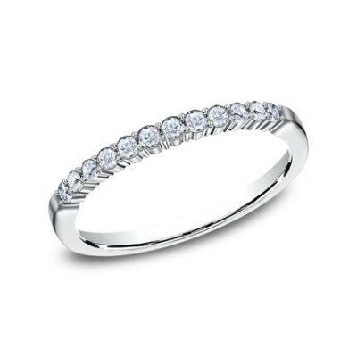 2MM WHITE GOLD SHARED PRONG DIAMOND BAND 552621W 400x400 - 2MM WHITE GOLD SHARED PRONG DIAMOND BAND 552621W