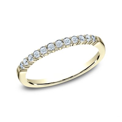 2MM YELLOW GOLD SHARED PRONG DIAMOND BAND 552621Y 400x400 - 2MM YELLOW GOLD SHARED PRONG DIAMOND BAND 552621Y