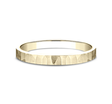 2MM YELLOW GOLD STACKABLE BAND 492763Y 2 - 2MM YELLOW GOLD STACKABLE BAND 492763Y