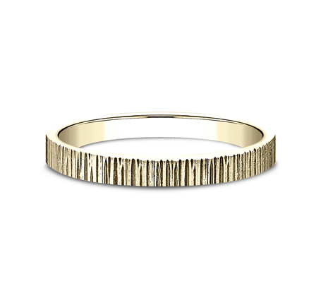 2MM YELLOW GOLD STACKABLE BAND 492772Y 2 - 2MM YELLOW GOLD STACKABLE BAND 492772Y