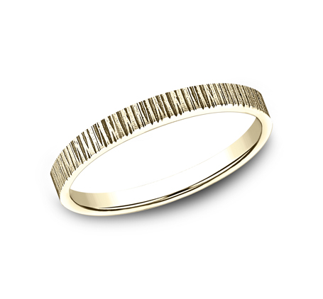 2MM YELLOW GOLD STACKABLE BAND 492772Y - 2MM YELLOW GOLD STACKABLE BAND 492772Y