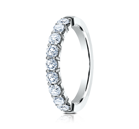 3MM PLATINUM CRESCENT SHARED PRONG DIAMOND BAND 5935643R 1 - 3MM PLATINUM CRESCENT SHARED PRONG DIAMOND BAND 5935643R