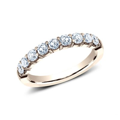 3MM ROSE GOLD CRESCENT SHARED PRONG DIAMOND BAND 5935643R 400x400 - 3MM ROSE GOLD CRESCENT SHARED PRONG DIAMOND BAND 5935643R