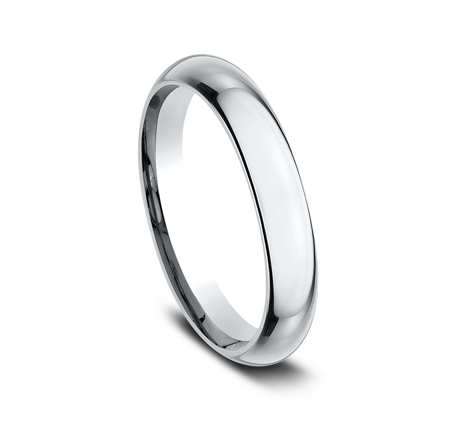 3MM WHITE GOLD BAND HDCF130W 1 - 3MM WHITE GOLD BAND HDCF130W