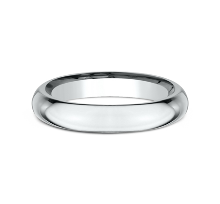 3MM WHITE GOLD BAND HDCF130W 2 - 3MM WHITE GOLD BAND HDCF130W