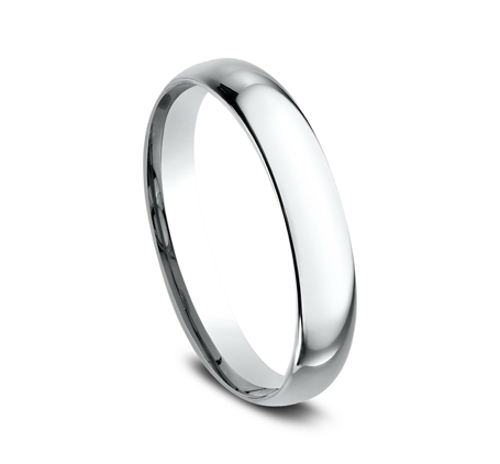 3MM WHITE GOLD BAND LCF130W 1 - 3MM WHITE GOLD BAND LCF130W