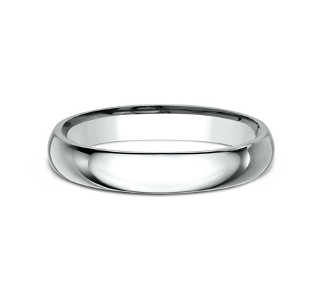 3MM WHITE GOLD BAND LCF130W 2 - 3MM WHITE GOLD BAND LCF130W