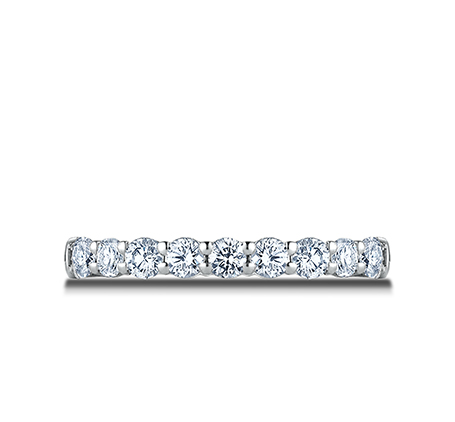 3MM WHITE GOLD CRESCENT SHARED PRONG DIAMOND BAND 5935643W 2 - 3MM WHITE GOLD CRESCENT SHARED PRONG DIAMOND BAND 5935643W