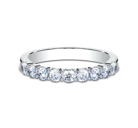 3MM WHITE GOLD SHARED PRONG DIAMOND BAND 5535922W 2 - 3MM WHITE GOLD SHARED PRONG DIAMOND BAND 5535922W
