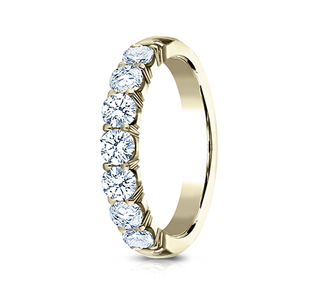 3MM YELLOW GOLD CRESCENT SHARED PRONG DIAMOND BAND 5935645Y 1 - 3MM YELLOW GOLD CRESCENT SHARED PRONG DIAMOND BAND 5935645Y
