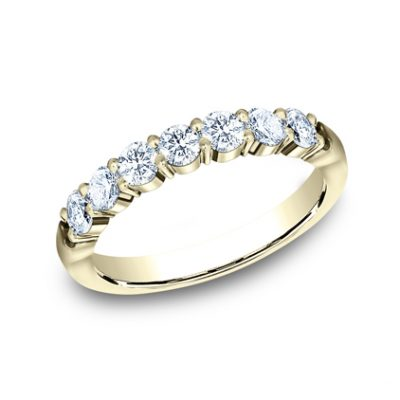 3MM YELLOW GOLD SHARED PRONG DIAMOND BAND 5535015Y 400x400 - 3MM YELLOW GOLD SHARED PRONG DIAMOND BAND 5535015Y