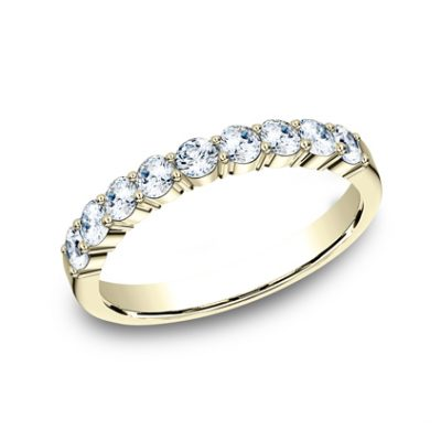 3MM YELLOW GOLD SHARED PRONG DIAMOND BAND 5535922Y 400x400 - 3MM YELLOW GOLD SHARED PRONG DIAMOND BAND 5535922Y