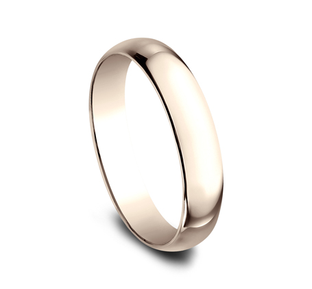 4MM ROSE GOLD BAND 140R 1 1 - 4MM ROSE GOLD BAND 140R