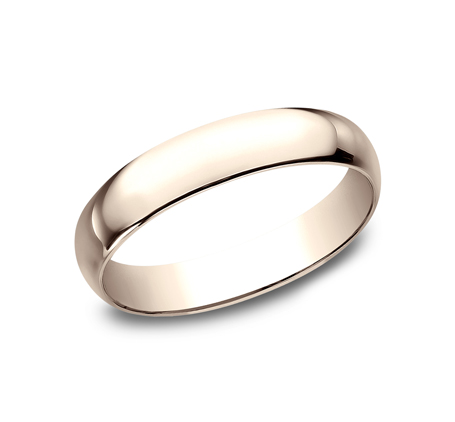 4MM ROSE GOLD BAND 140R 1 - 4MM ROSE GOLD BAND 140R