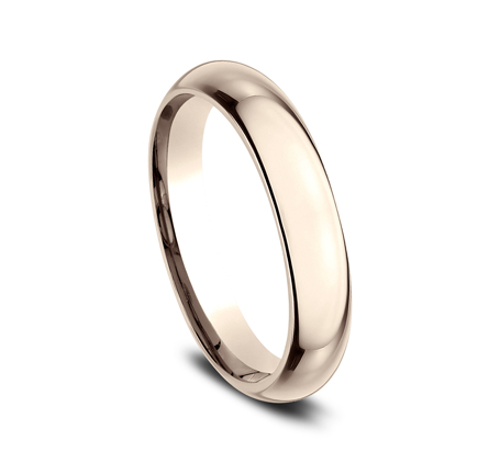 4MM ROSE GOLD BAND HDCF140R 1 - 4MM ROSE GOLD BAND HDCF140R