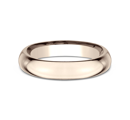 4MM ROSE GOLD BAND HDCF140R 2 - 4MM ROSE GOLD BAND HDCF140R