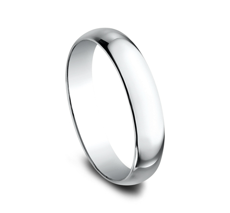 4MM WHITE GOLD BAND 140W 1 - 4MM WHITE GOLD BAND 140W