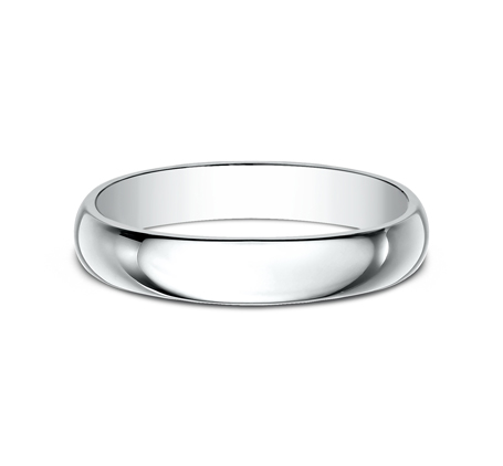 4MM WHITE GOLD BAND 140W 2 - 4MM WHITE GOLD BAND 140W