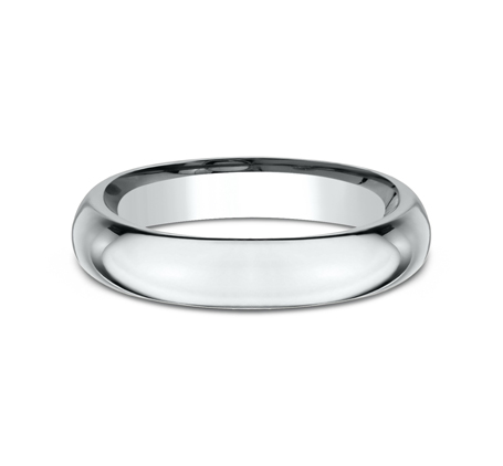 4MM WHITE GOLD BAND HDCF140W 2 - 4MM WHITE GOLD BAND HDCF140W