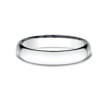 4MM WHITE GOLD BAND SLCF140W 2 - 4MM WHITE GOLD BAND SLCF140W