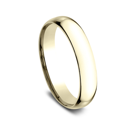 4MM YELLOW GOLD BAND SLCF140Y 1 - 4MM YELLOW GOLD BAND SLCF140Y